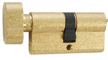 5 Brass High Security Cylinder With Knob Powder Metallurgy Cam